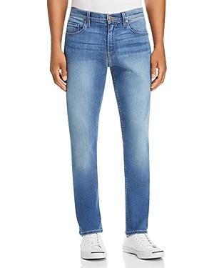Paige Federal Slim Straight Fit Jeans In Led