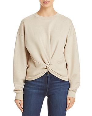 Frame Cotton Twisted Sweatshirt