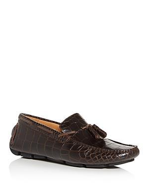 The Men's Store At Bloomingdale's Men's Croc-embossed Moc-toe Drivers - 100% Exclusive