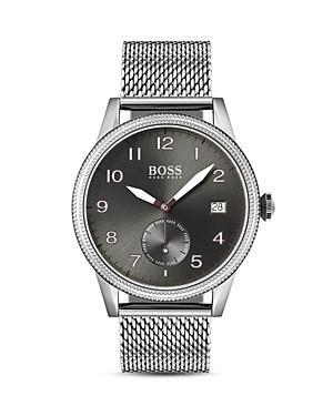 Boss Hugo Boss Legacy Gray Dial Watch, 44mm