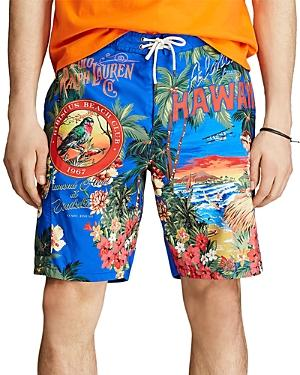 Polo Ralph Lauren Kailua Tropical Print Swim Trunks