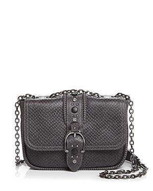 Longchamp Amazone Rock Mini Leather Convertible Shoulder Bag
