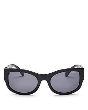 Versace Men's Polarized Square Sunglasses, 55mm