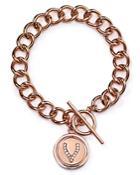 Carolee Make A Wish Wordplay Chain Bracelet