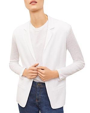 Gerard Darel Ava Linen Jersey Jacket