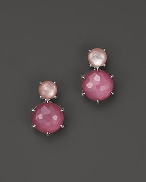 Ippolita Rock Candy Sterling Silver Wonderland Two-tone Earrings
