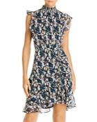 Sam Edelman Ruched Python Mini Dress