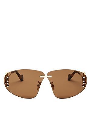 Loewe Women's Rimless Round Sunglasses, 72mm