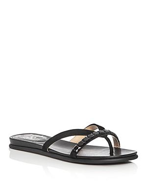 Vince Camuto Eddinal Embellished Thong Sandals