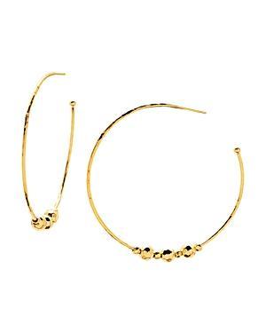 Gorjana Taner Beaded Hoop Earrings