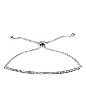 Marc & Marcella X Bloomingdale's Diamond Pave Bar Adjustable Bracelet In Sterling Silver, 0.47 Ct. T.w. - 100% Exclusive