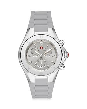 Michele Jellybean Stainless Gray Chronograph, 38mm (39% Off) Comparable Value $445