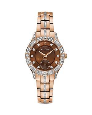 Bulova Crystal Watch, 30.5mm