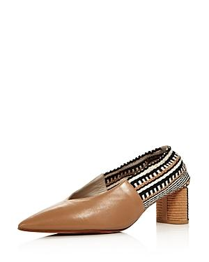 Antolina Women's Dalis Leather & Woven Pumps