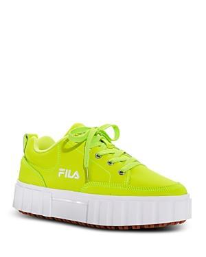 Fila Women's Sandblast Low Top Sneakers
