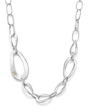 Ippolita Sterling Silver Cherish Large Link Collar Necklace, 22