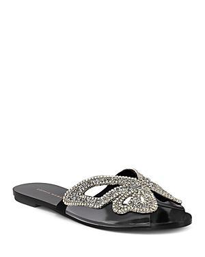 Sophia Webster Women's Madame Crystal Embellished Slide Sandals