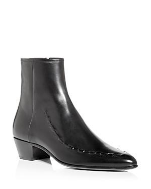 Saint Laurent Men's Casey Pointed Toe Boots