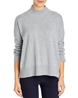 Eileen Fisher Mock Neck Cashmere Pullover Sweater