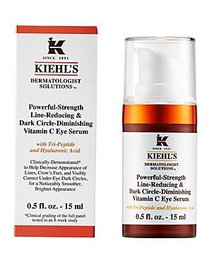 Kiehl's Since 1851 Powerful-strength Dark Circle-reducing Vitamin C Eye Serum 0.5 Oz.