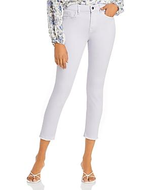 Jen7 By 7 For All Mankind Skinny Frayed Ankle Jeans