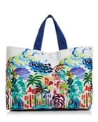 Echo Havana Palms Canvas Tote