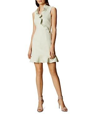Karen Millen Ruffle Mini Dress