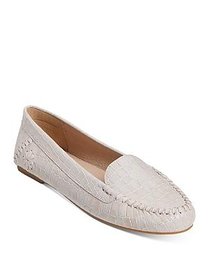 Jack Rogers Women's Millie Embossed Leather Moccasins