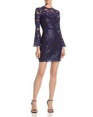 Tadashi Shoji Petites Bell-sleeve Lace Dress - 100% Exclusive