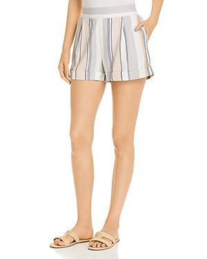 Three Dots Portofino Striped Shorts