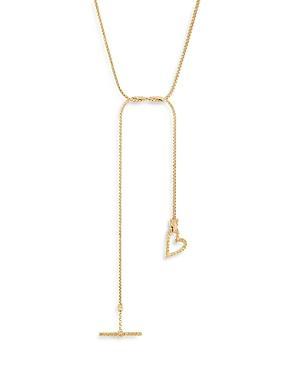 John Hardy 14k Yellow Gold Classic Chain Adwoa Heart Necklace, 40