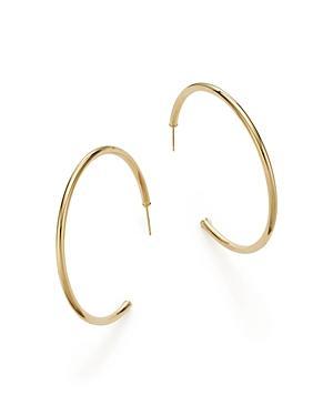 14k Yellow Gold Hoop Earrings - 100% Exclusive