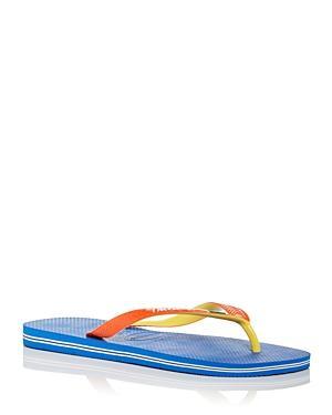 Havaianas Men's Brazil Mix Color Block Flip Flops