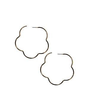 Jules Smith Flora Hoop Earrings