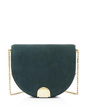 Ted Baker Flossi Mini Suede & Leather Crossbody