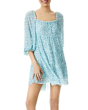 Alice And Olivia Rowen Sequined Mini Dress