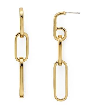 Rebecca Minkoff Signature Chain Link Earrings