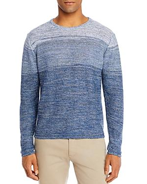 Inis Meain Linen Ombre Stripe Sweater