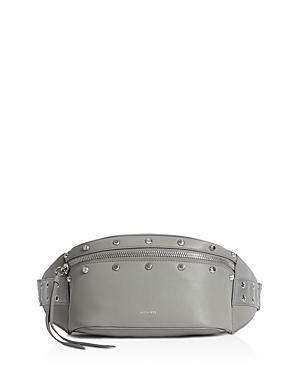 Allsaints Sid Studded Leather Convertible Belt Bag