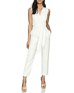 Reiss Romy Tied Waist Jumpsuit