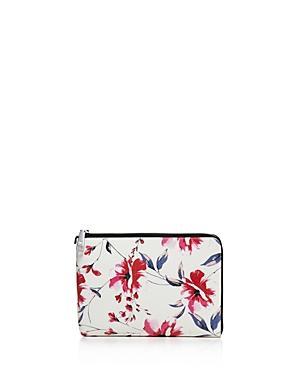 Ivanka Trump Rio Tech Floral Leather Clutch