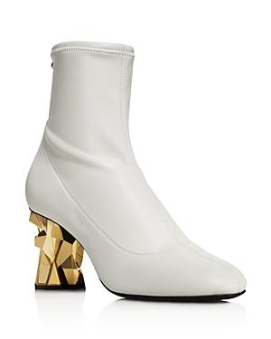 Giuseppe Zanotti Women's Stretch Leather Booties