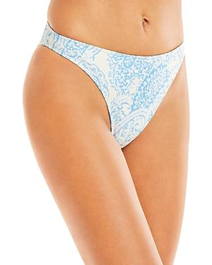 Faithfull The Brand Palmero Printed Bikini Bottom