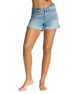 Rag & Bone Nina High-rise Jean Shorts In Harper
