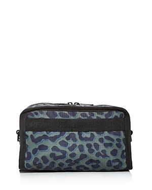 Lesportsac Gabrielle Leopard-print Nylon Box Cosmetic Case