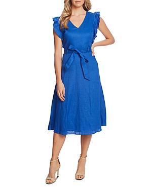 Cece Flutter-sleeve Dress