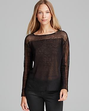 Eileen Fisher Petites Boat Neck Top