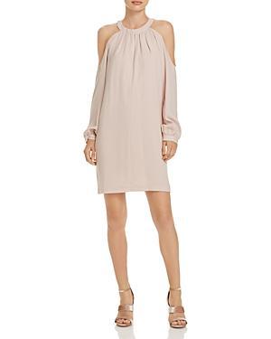 Bcbgmaxazria Josephine Cold-shoulder Dress