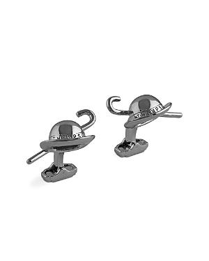 Thompson Of London Hat And Cane Cufflinks