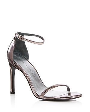 Stuart Weitzman Nudistsong Ankle Strap High-heel Sandals